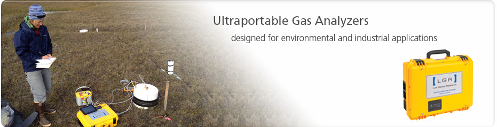 Ultraportable Gas Analyzers