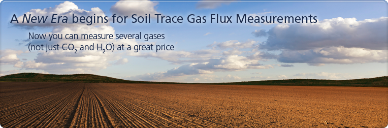 Soil Flux Trace Gas Measurements