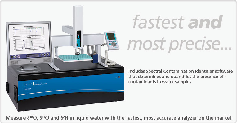 Liquid Water Isotope Analyzer - Enhanced Performance model