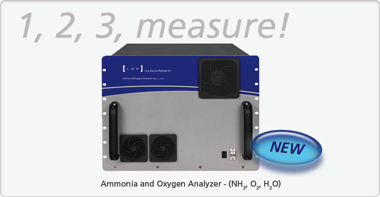 Ammonia/Oxygen Analyzer - (NH<sub>3</sub>, O<sub>2</sub>, H<sub>2</sub>O)