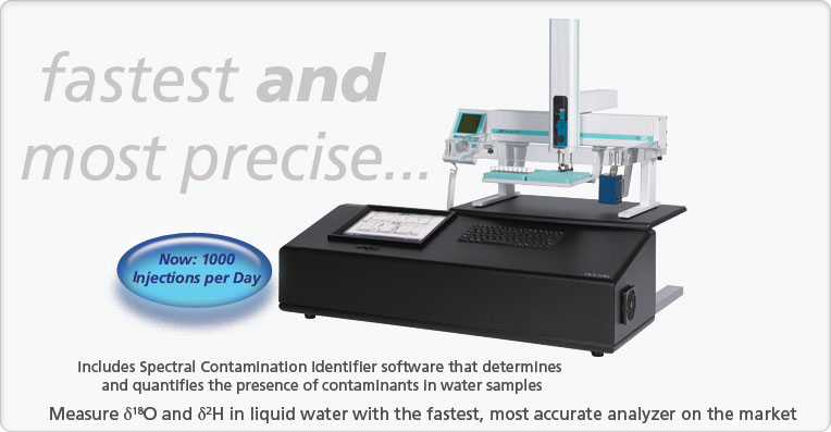 Liquid Water Isotope Analyzer